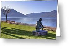 Ascona - Lake Maggiore Greeting Card