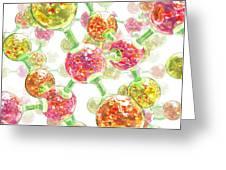 Atomic Bonds, Artwork Greeting Card