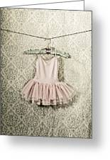 Ballet Dress Greeting Card by Joana Kruse