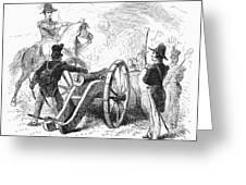 Battle Of Buena Vista Greeting Card