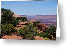 By The Canyon Greeting Card