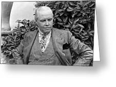 Carl Van Vechten (1880-1964) Greeting Card