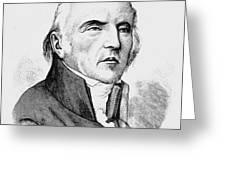 Chevalier De Lamarck Greeting Card by Granger