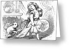 Children: Types Greeting Card