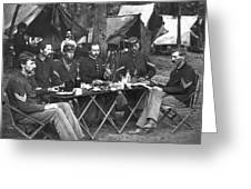 Civil War Soldiers Greeting Card