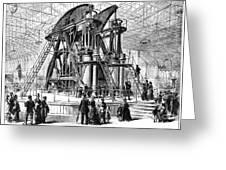 Corliss Steam Engine, 1876 Greeting Card