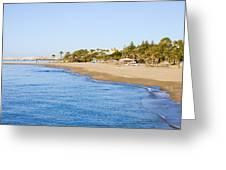 Costa Del Sol In Spain Greeting Card