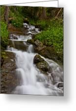 Crystal Cascades Greeting Card