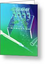 Dna Research Greeting Card