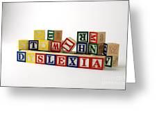 Dyslexia Greeting Card