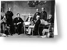 Emancipation Proclamation Greeting Card by Photo Researchers