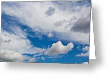 English Summer Sky Greeting Card