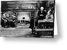 Film Still: Abraham Lincoln Greeting Card by Granger