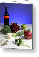 Foods Rich In Quercetin Greeting Card