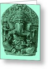 Ganesha, Hindu God Greeting Card