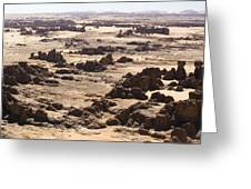Giant Sandstone Outcroppings Deep Greeting Card