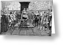 Gustavus II (1594-1632) Greeting Card