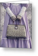 Handbag Greeting Card by Joana Kruse