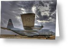 High Dynamic Range Image Of A U.s. Air Greeting Card