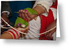 Hindu Wedding Ceremony Greeting Card