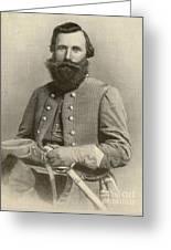 Jeb Stuart, Confederate General Greeting Card