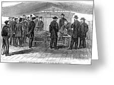 John Wilkes Booth Greeting Card