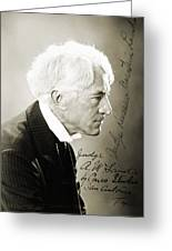 Kenesaw Mountain Landis Greeting Card