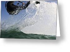 Kitesurfing Board Greeting Card
