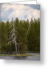 Lake Huosius At Hossa Greeting Card