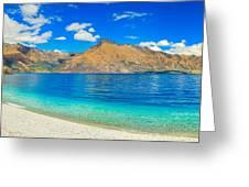 Lake Wakatipu Greeting Card