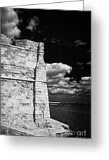 Larnaca Fort Dating From 1625 In Larnaka Republic Of Cyprus Europe Greeting Card