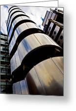 Lloyds Of London Building Greeting Card