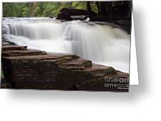 Lower Tahquamenon Falls Area Greeting Card