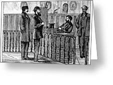 Ludlow Street Jail, 1868 Greeting Card