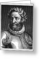 Luiz Vaz De Camoes (1524-1580) Greeting Card