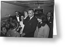 Lyndon Baines Johnson Greeting Card
