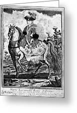 Marquise De Pompadour Greeting Card