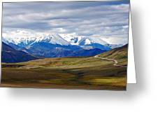 Mount Mckinley Greeting Card