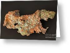 Native Copper Greeting Card