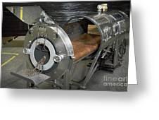 Negative Pressure Ventilator, Iron Lung Greeting Card