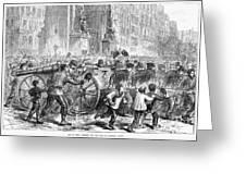Paris Commune, 1871 Greeting Card