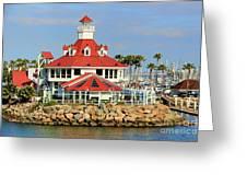 Parker's Lighthouse Restaurant Greeting Card