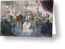 Perrault: Cinderella, 1867 Greeting Card