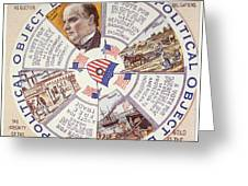 Presidential Campaign, 1896 Greeting Card