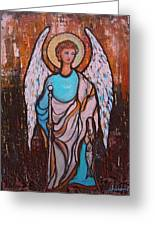 Raphael Archangel Greeting Card