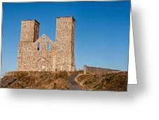 Reculver Towers Greeting Card