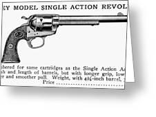 Revolver, 19th Century Greeting Card