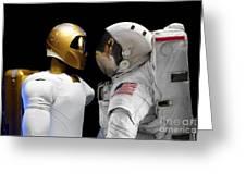 Robonaut 2, A Dexterous, Humanoid Greeting Card by Stocktrek Images