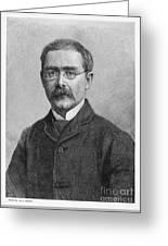 Rudyard Kipling (1865-1936) Greeting Card
