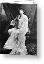 Sarah Bernhardt (1844-1923) Greeting Card